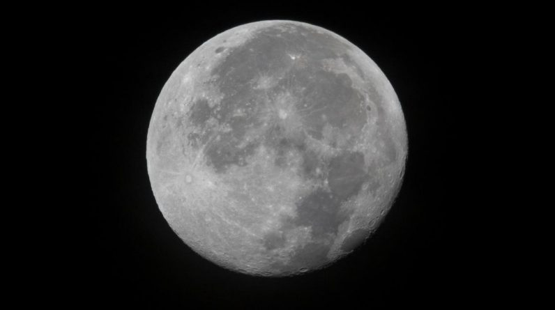 October sky brings a harvest moon and a rare Halloween blue moon