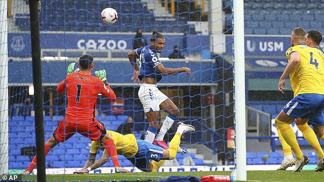 Dominic Calvert-Levine went on to score six league goals this season to a spectacular cross.