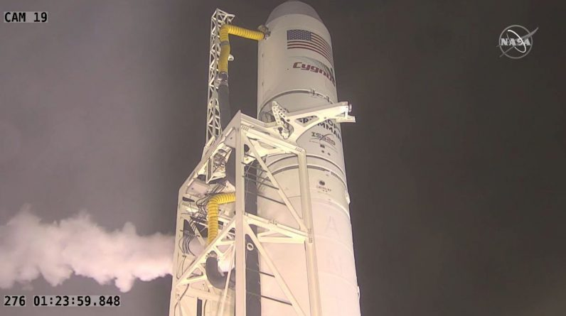 Northrop Grumman launched its capsule to the International Space Station from the Virginia coast