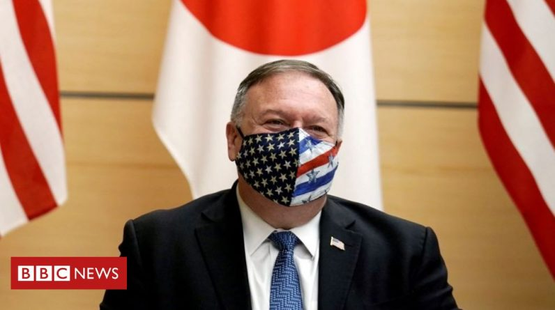 Mike Pompeo slammed China in the 'Quad' meeting in Japan