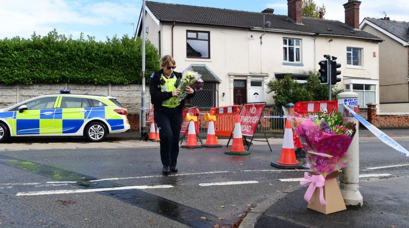 The name of the victim of the Stoke-on-Trent 'murder' during the investigation is police