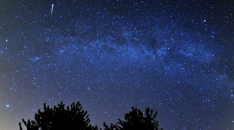 Dragonits meteor shower peaks in UK tonight as 'Shooting Stars' illuminate the night sky