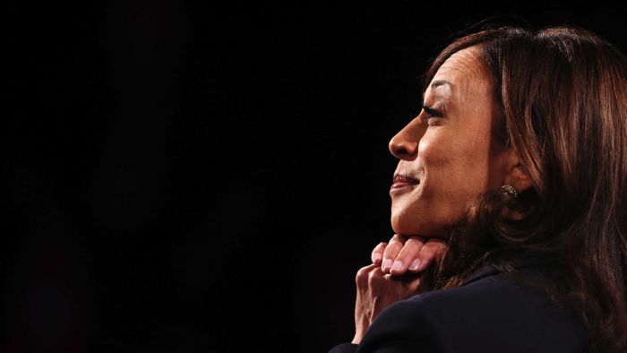 Kamala Harris and Mike Pence met at the Vice Presidential Debate.  Key examples are here