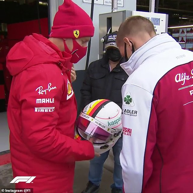 Sebastian Vettel paid tribute to his son Miku Michael Schumacher