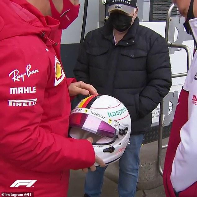 Ferrari driver integrates 3D design inspired by F1 legend ahead of Eiffel GP