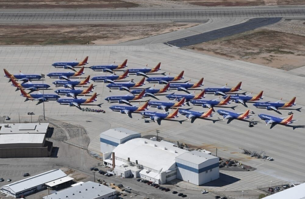 Boeing 737 Max, Southwest Airlines, Ground