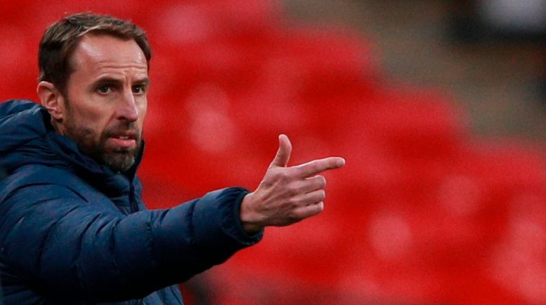 England manager Gareth Southgate during his side's 2-1 win in the Nations League over Belgium