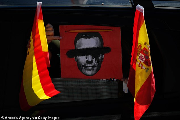 The cartoon of Sanchez in Point Pedro is run by an opponent