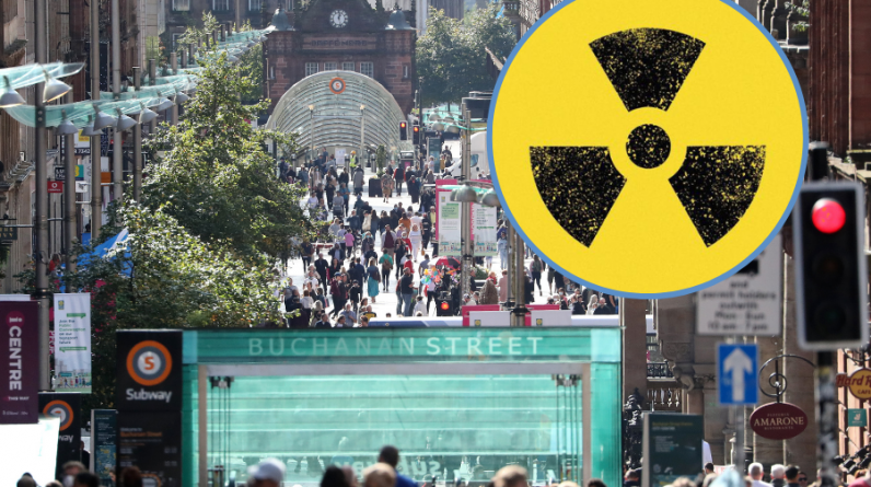 Radioactive gas in Glasgow: Map reveals hotspot radon throughout the city