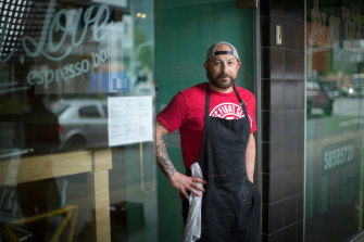 Shepherd's restaurant Philip Barca says business has dropped significantly.