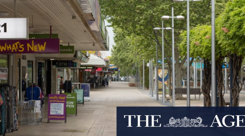 The regional city is quiet as the community waits for test results