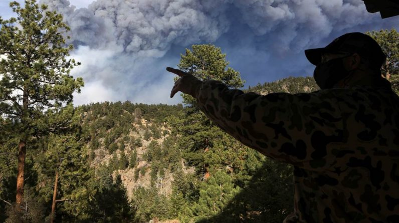 Colorado's biggest fire brings new round of emissions