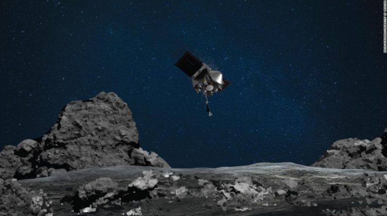 Asteroid Pennu is to play 'Tag' with the NASA spacecraft