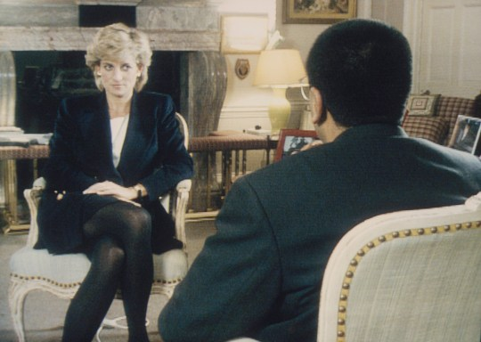 Martin Bashir interviewed Princess Diana