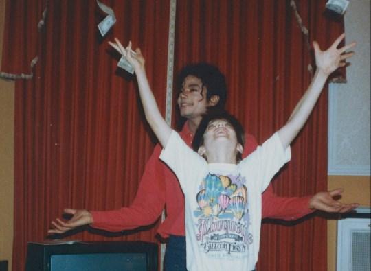 Michael Jackson and James Safechak