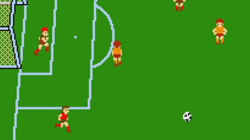With the exception of FIFA, Soccer joins the hamster's arcade archives this week