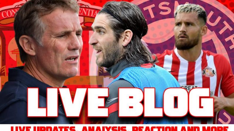Sunderland AFC v Portsmouth: Live stream details, match updates, latest score, team news, manager reaction