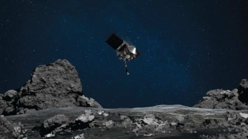 A NASA probe is full of asteroid objects, and now it has a problem