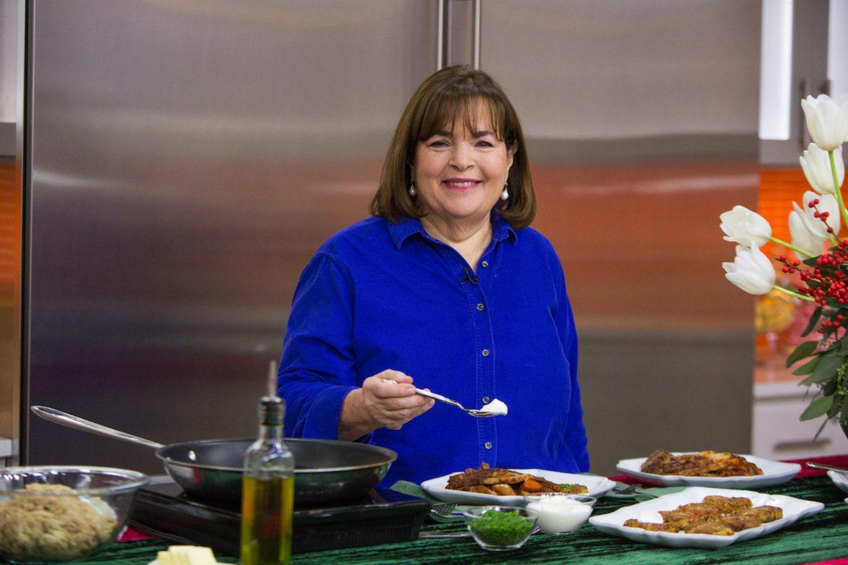 Ina Gordon smiles as she cooks for 'Today' Season 66