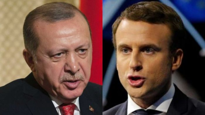 Turkish President Recep Tayyip Erdogan says French President Macron needs psychiatric treatment in response to his beheading