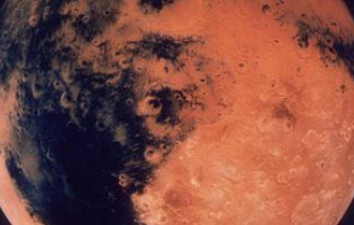 The discovery of a meteorite from Mars in the Sahara Desert...
