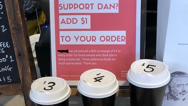 Acrobar Cafe brutally abuses Daniel Andrews supporters