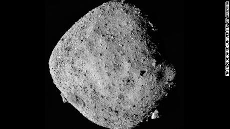 This asteroid emits particles in space. A spacecraft might tell us why