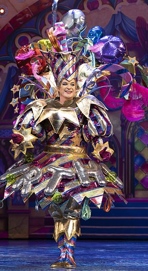 Showman Michael Harrison told me exclusively because we all 'need a laugh at the end of the year' that he signed on to one of the stars' cavalry led by Julian Clary (pictured above in The Man in the Mirror in Snow White London Palladium)