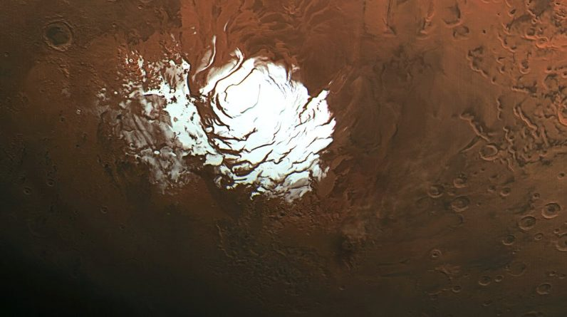 Buried lakes of salt water on Mars may provide conditions for life
