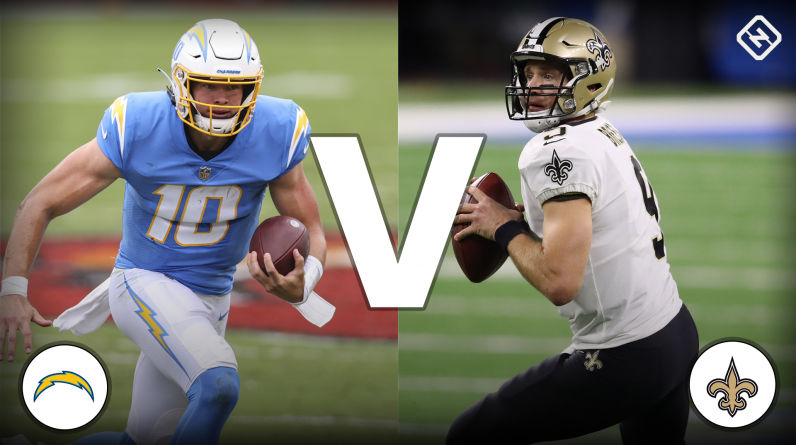 Chargers live score against Saints, updates, highlights of the NFL's 'Monday Night Football' game