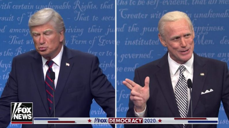 Check out Jim Carrey as Joe Biden on the season premiere of 'Saturday Night Live'