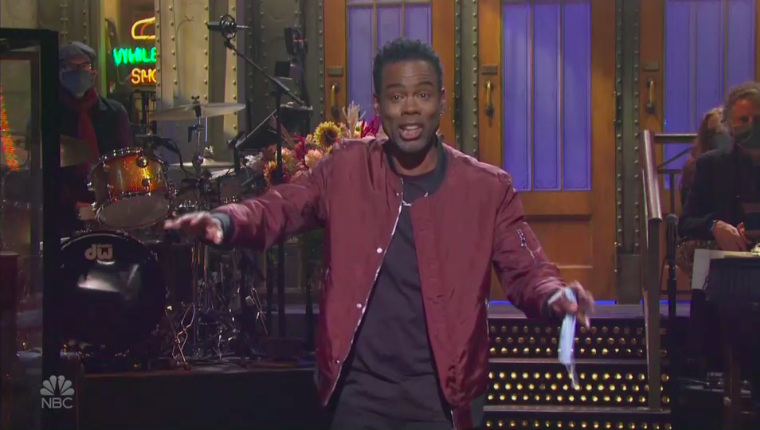 Chris Rock hosts COVID, vote and 're-negotiate' with government on monologue
