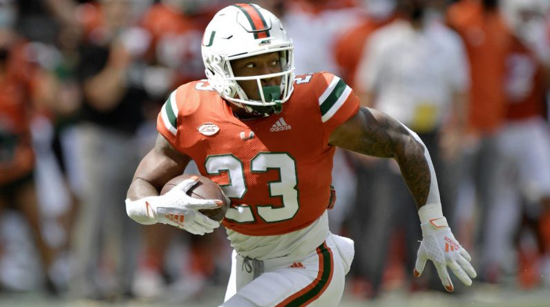 College football scores, NCAA top 25, Week 7: Miami jumps back, wins Memphis Wild shootout