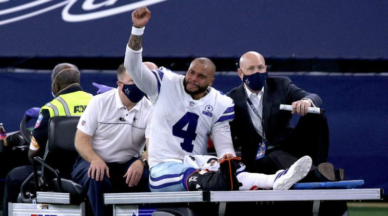 Cowboys vs Giants Score: Duck Prescott leaves with injury at the end of the season, but Dallas marches to victory