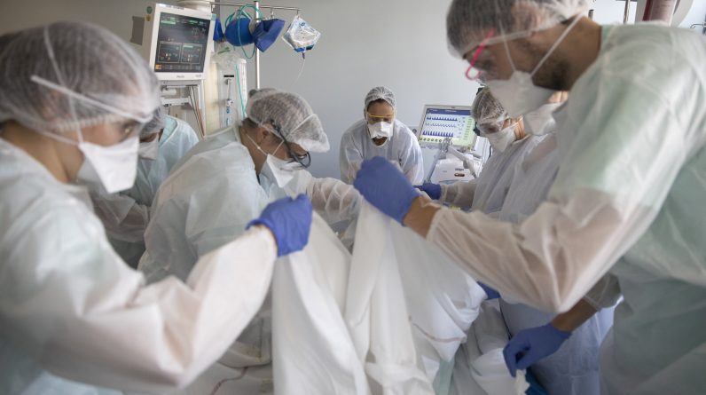 Doctors are asking what is wrong with the virus filling French ICUs fresh