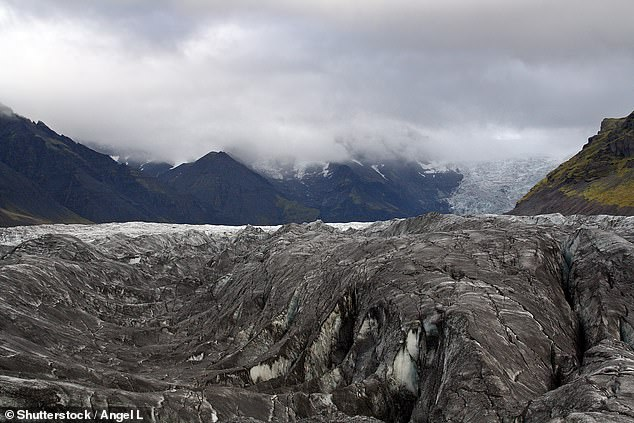 Experts say an ice-covered volcano could erupt in rural Iceland. The volcanic island known as Chromswatn is very active and is almost completely covered by ice