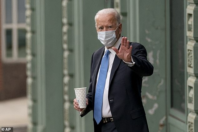 Democratic nominee Joe Biden sent congratulations to President Donald Trump and First Lady Melania Trump following overnight news that they had tested positive for the corona virus.