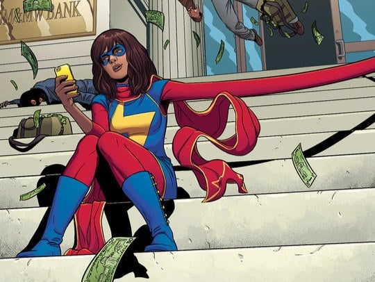 M.S.  Marvel: Newcomer Iman Velani plays Marvel's first screen Muslim hero