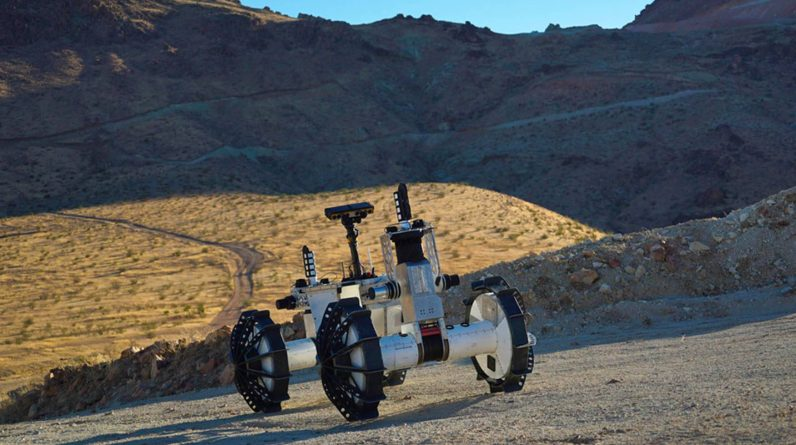 NASA's ridiculous rover concept can tackle any terrain - PGR