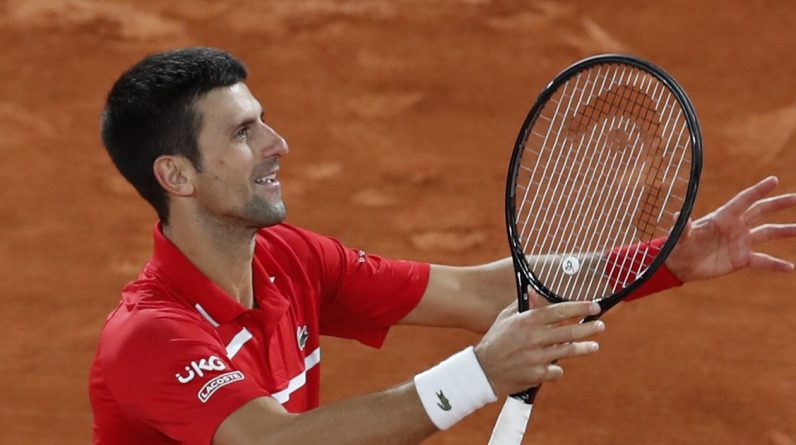 Novak Djokovic wins five sets in the semifinals of the French Open