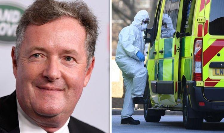 Pierce Morgan News: UK presenter on the Groning virus line    UK    News