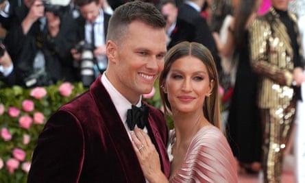 Kisel Bundsen and her husband Tom Brady last year.