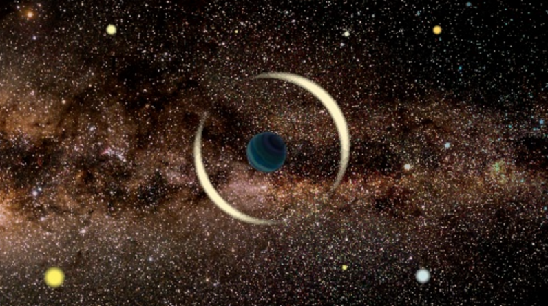 A 'rogue' planet has been spotted floating through the Milky Way