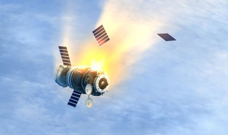 Space CATASTROPHE: 'High risk' of high-speed crash Russian and Chinese space debris | Science | News
