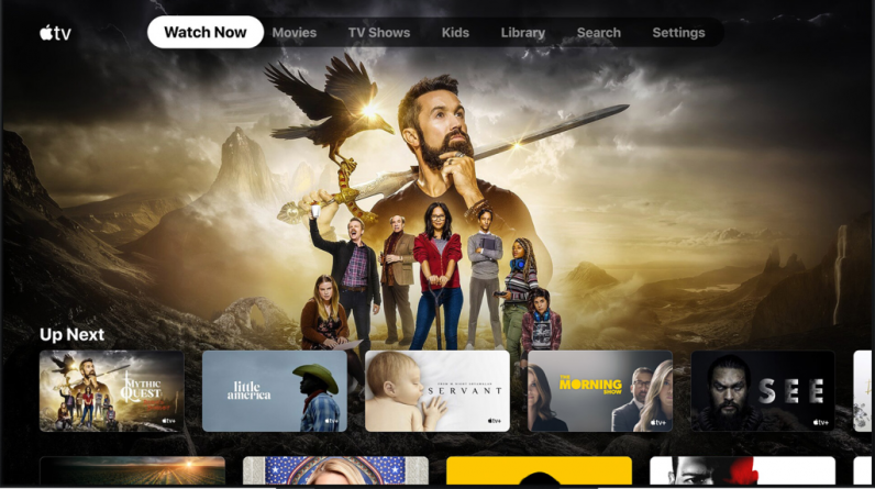 The Apple TV app is available on select models of the Sony Smart TV