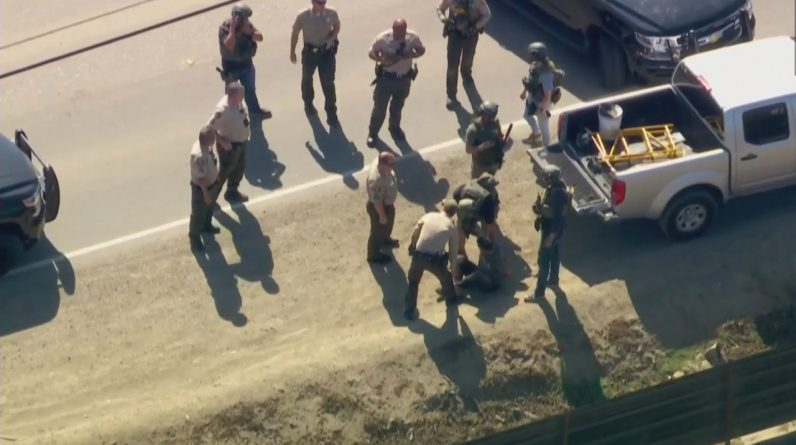 The man was arrested following a tip-off from Ventura County officials