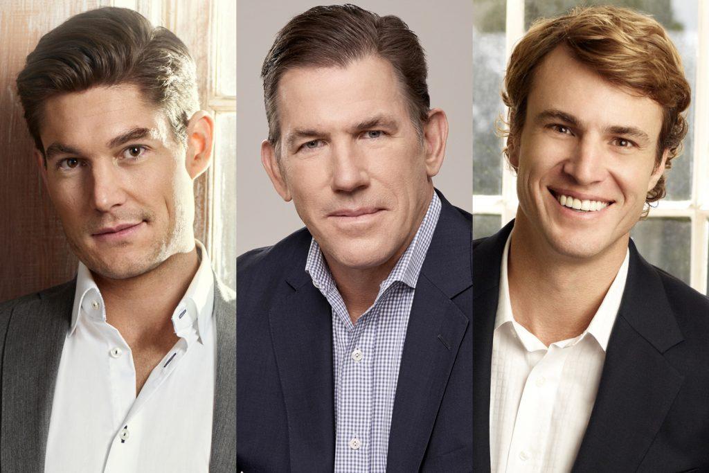 Craig Conover, Thomas Ravenel and Shep Rose