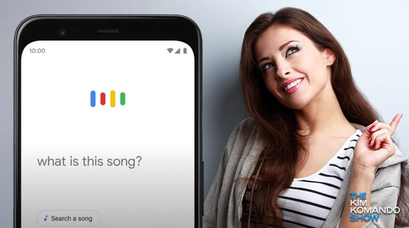 What is that song? Hum or whistle, Google can tell you