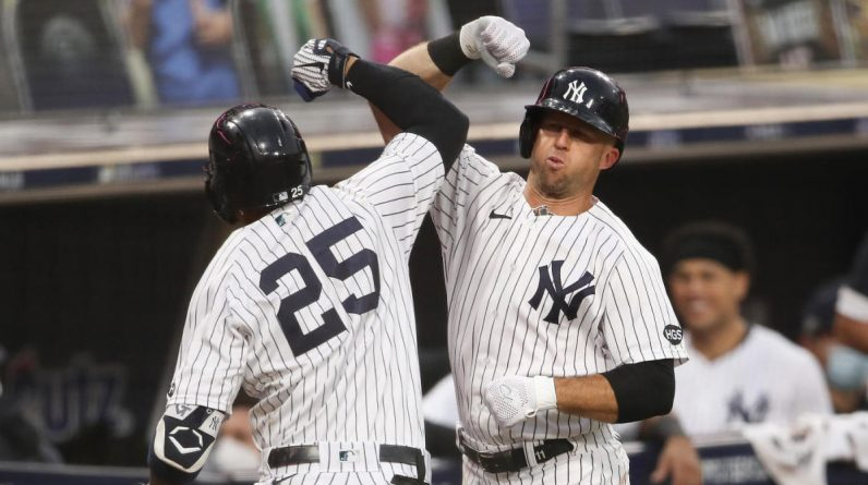Yankees vs. Race Score: Clipper Torres and Luke White Homer, New York Weapons Force ALDS Game5