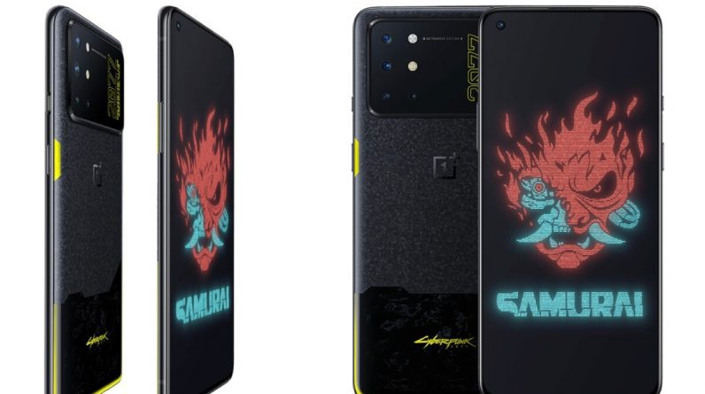 Crazy OnePlus 8Dx Cyberbank 2077 Edition is official, but you can not keep it